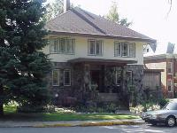 House with Prairie-style architecture